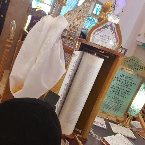 בר מצווה בבית כנסת עם כליזמרים ירושלמים