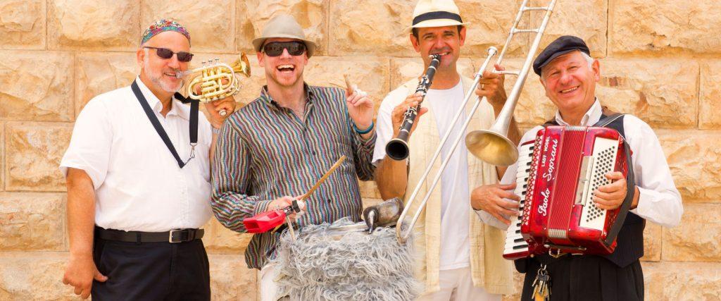 קבלת פנים לאירועים - להקת כליזמרים ירושלמים