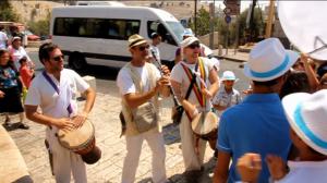 בר מצווה בירושלים - תהלוכה